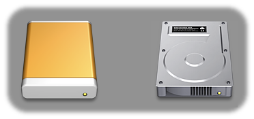 HDD icon OSX