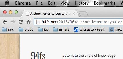 that short letter