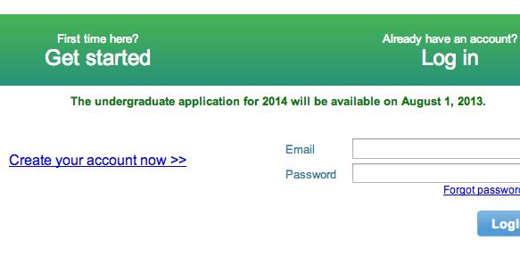 SUNY undergrad for 2014 term