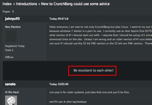 crunchbang forum